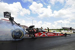 NHRA Testing report Spencer Massey sets track record in NHRA test