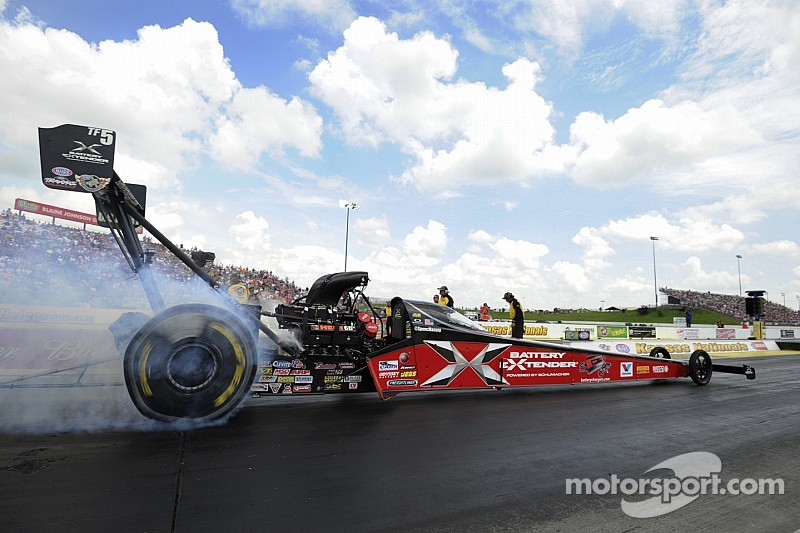 Spencer Massey sets track record in NHRA test