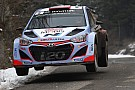 Hyundai Motorsport fights to the finish with both cars in Rallye Monte-Carlo