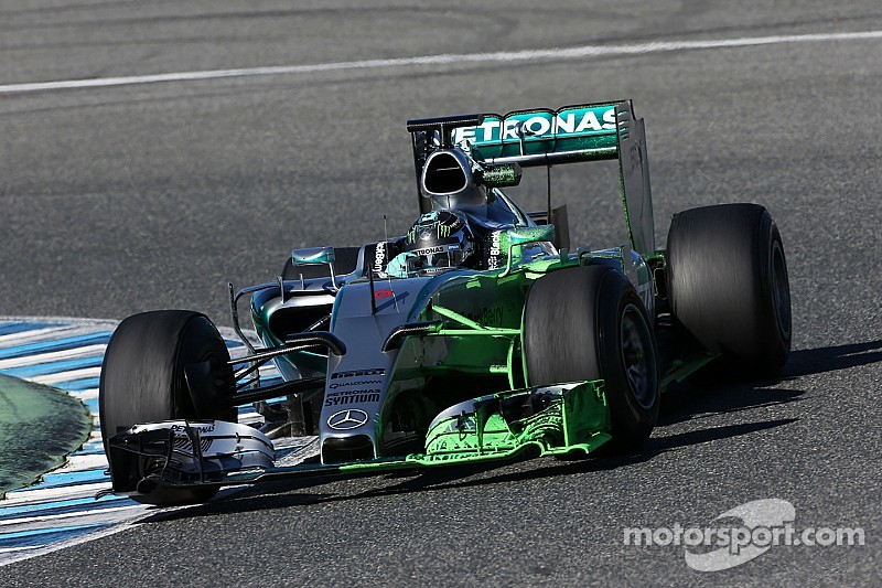 Positive start for Mercedes at opening pre-season test at Jerez