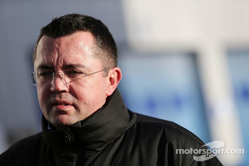 Boullier pleased with McLaren progress