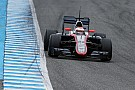 McLaren say test positive despite problems
