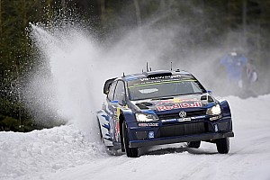 Sebastien Ogier moves into clear Rally Sweden lead