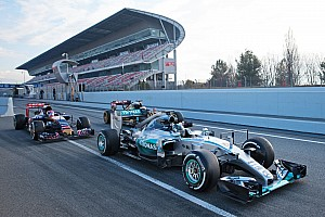 Rivals in awe of Mercedes pace in Barcelona testing