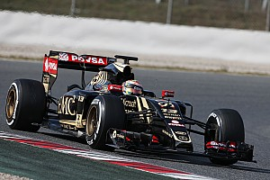 Formula 1 Testing report Lotus ends the final day of pre-season testing at Barcelona early