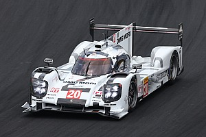 WEC Testing report Season preparations with new aero package for the Porsche 919 Hybrid