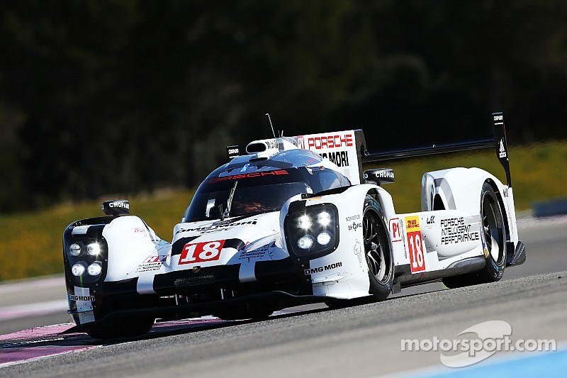 Porsche on top again as WEC test ends