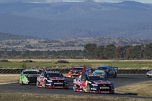 V8 Supercars Race report Whincup inherits lead to win at Symmons Plains