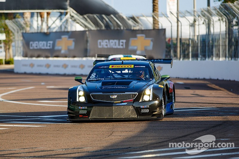 Cadillac ATS-V.R drivers O'Connell and Pilgrim fifth and sixth at St. Pete