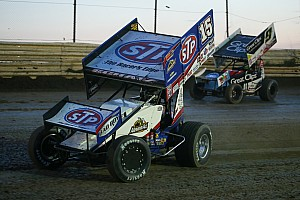 World of Outlaws Race report Donny Schatz wins hard fought Mini Gold Cup victory