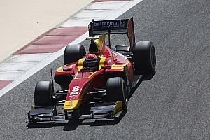 GP2 Testing report Alexander Rossi and Racing Engineering complete a positive final test in Bahrain