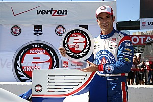IndyCar Qualifying report Castroneves conquers Long Beach qualifying