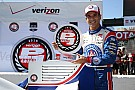 Castroneves conquers Long Beach qualifying