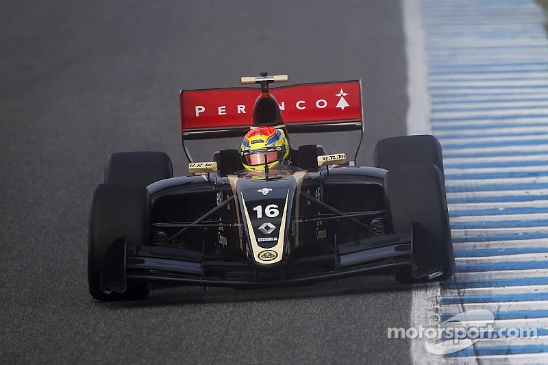 Formula Renault 3.5 Series Matthieu Vaxiviere on top at Alcañiz