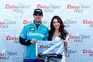 Home track advantage for Hamlin as he secures Xfinity pole