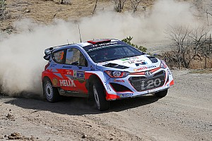 WRC Race report Hyundai Motorsport fights to fifth and scores Power Stage points in Rally Argentina