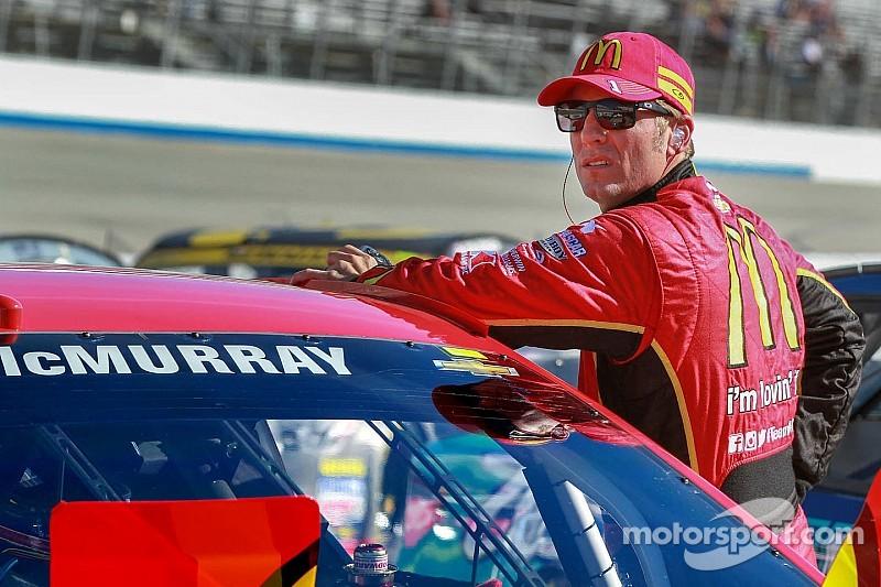 McMurray gives back before Talladega