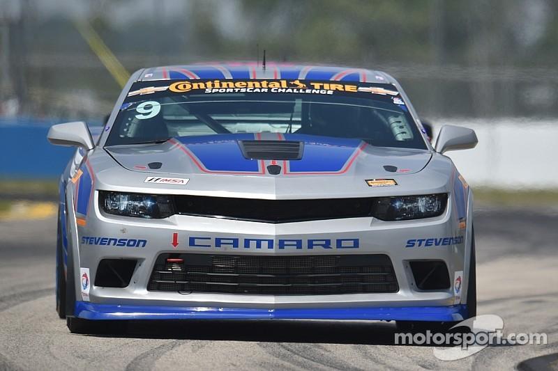 Matt Bell puts Stevenson Motorsports Camaro Z/28.R on pole
