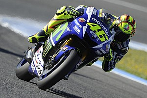 MotoGP Practice report Lorenzo holds second in first day of French free practice