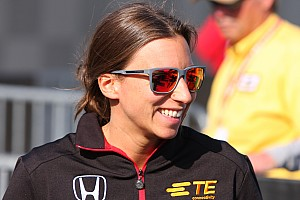 IndyCar Interview Simona de Silvestro is back at Indy and looking for more