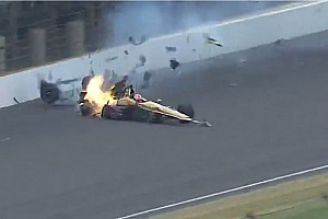 IndyCar Breaking news Hinchcliffe 'thankful' for heroic efforts by IndyCar safety team