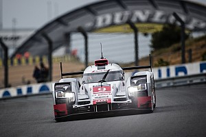 Le Mans Testing report Positive test day for Audi at Le Mans