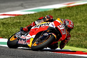 Marquez leads Honda 1-2 in opening practice