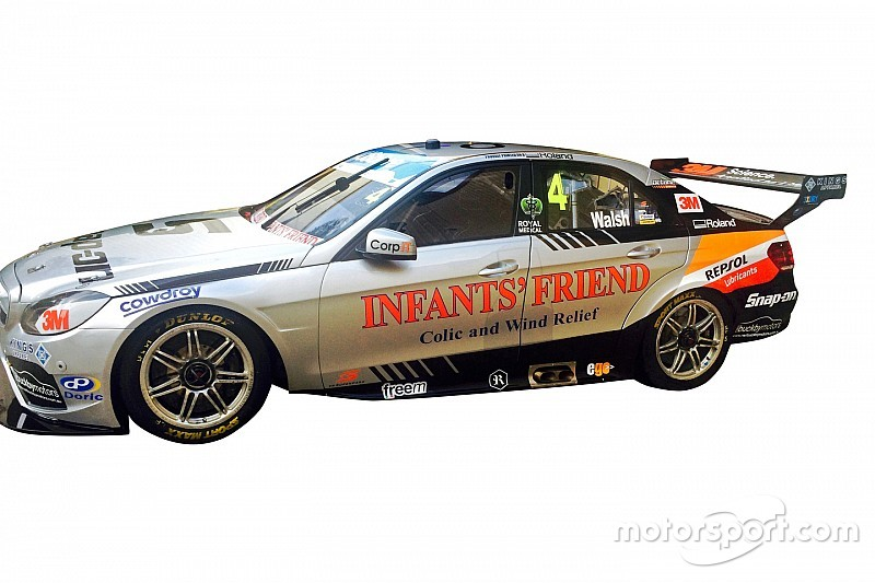 Walsh to run updated livery