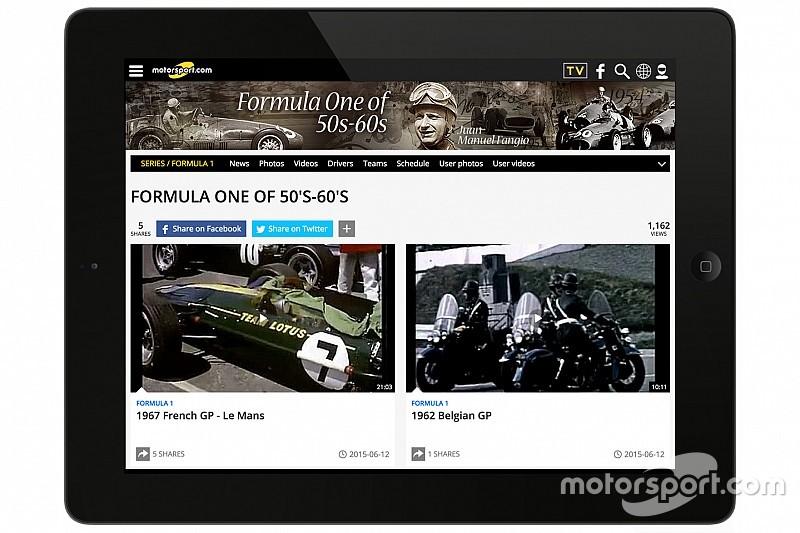 Motorsport.com adquiere al líder en contenido de video Assets of RaceFansTV