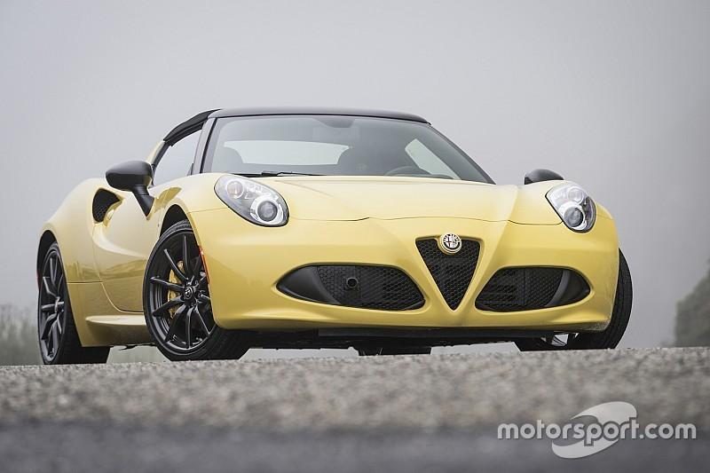 Tuesday test drive: Alfa Romeo 4C Spider