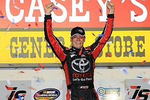 NASCAR Truck Race report Erik Jones scores Iowa win