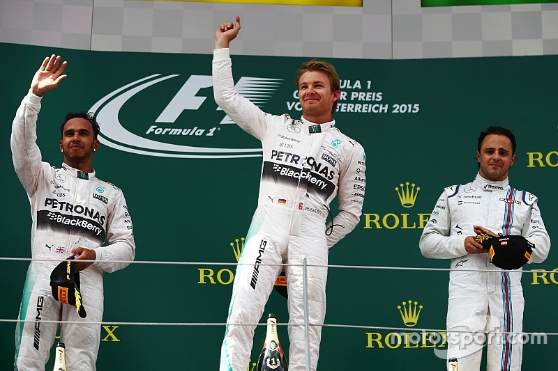 Silver Arrows sparkle in Spielberg with superb 1-2 finish!