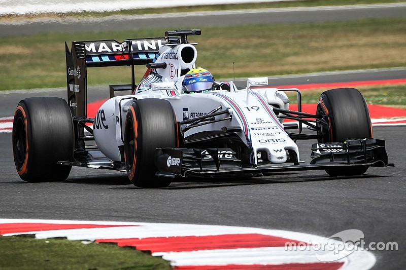 An all-Williams second row for tomorrow's British GP