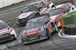 Hansen leads Holjes RX in front of packed home crowd