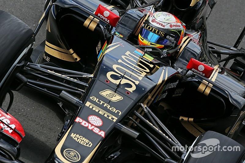 Abandono prematuro de Romain Grosjean