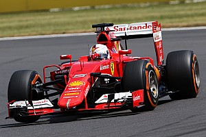 British GP: Vettel fights his way to the podium, Raikkonen eighth