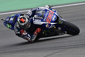 MotoGP Practice report Yamaha starts action at Sachsenring