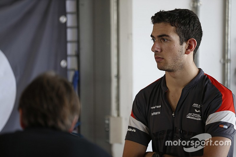 Nicholas Latifi firmó con MP Motorsport