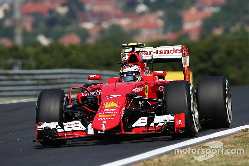 Ferraris fifth and seventh fastest in FP2 at Hungaroring