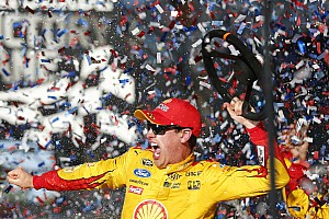 NASCAR Sprint Cup Preview Logano hoping to give Penske the Daytona/Indy sweep