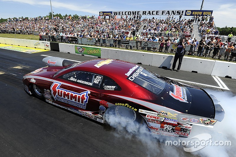 Four-time Pro Stock World Champion Greg Anderson relishes chance to perform at Sonoma