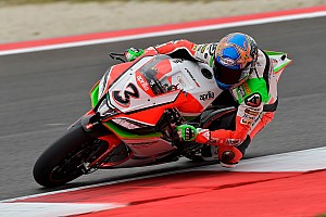World Superbike Testing report Biaggi remains quickest following afternoon downpour at Sepang