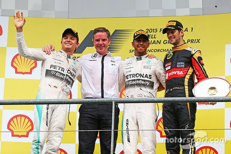 GP de Bélgica: Las fotos del fin de semana