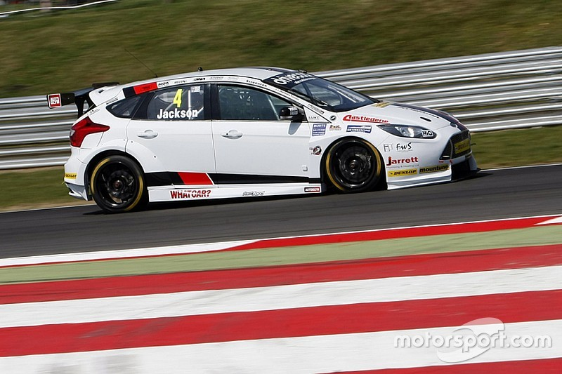 Rockingham BTCC: Jackson gives Motorbase first ever pole