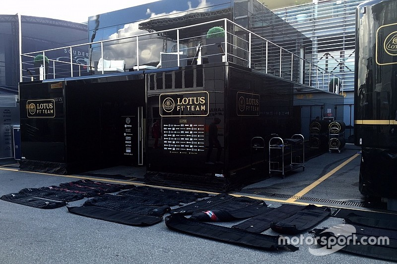 Rivales ayudaron a Lotus con mantas térmicas