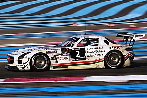 Endurance Race report HP Racing Mercedes wins the 2015 24H Barcelona