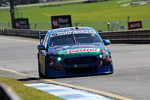 V8 Supercars Practice report Waters tops first co-driver session at Sandown