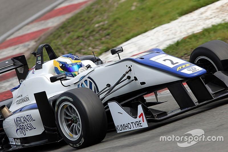 Sergio Sette Camara claims pole position for Masters of Formula 3 qualifying race