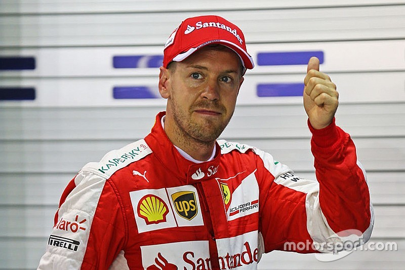 Singapore GP: Vettel ends Hamilton's pole run as Mercedes struggles