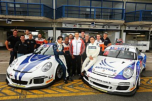 Pedro Piquet flips violently in Porsche GT3 Cup race - video